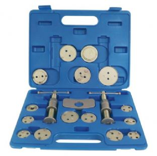 Laser 3835 Brake Caliper Rewind Tool Kit - 18 piece